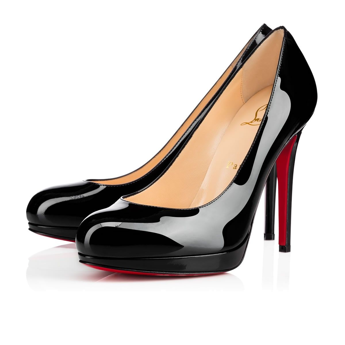 b8770e3e12a New Simple Pump 120 Black Patent Leather - Women Shoes - Christian Louboutin