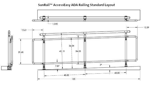 Best Sunrail™ Accesseasy Ada Handicap Accessibility Railings 400 x 300