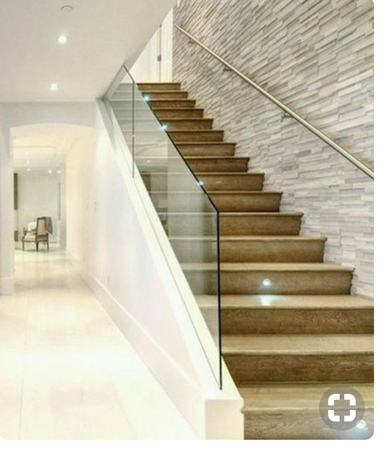 Accent Wall Dual Staircase: Pin By Randal Black On Lower Level Accent Wall