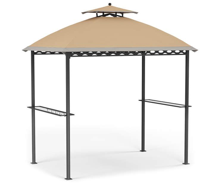 Wilson Fisher Oakmont Domed Small Space Grill Gazebo 5 X 8 Big Lots Grill Gazebo Small Gazebo Gazebo