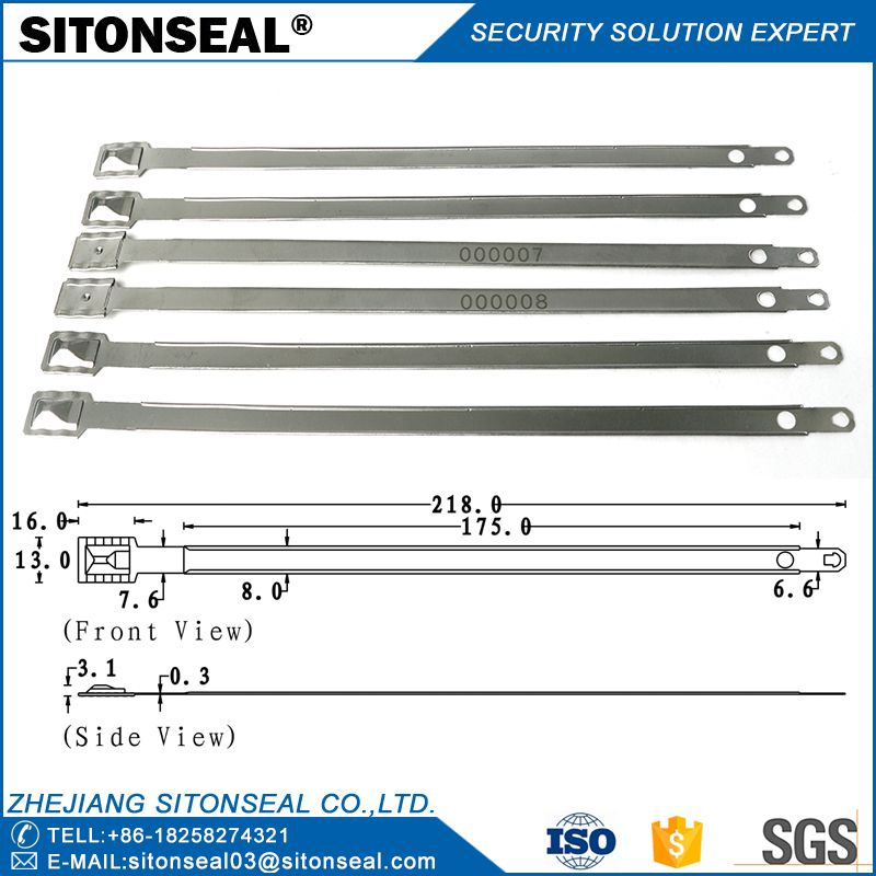 ST5002 Consequential Number Embossed Metal Strap Seal