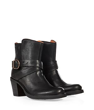 Get the look of the moment with these cool, chunky heel biker boots from Fiorentini & Baker #Stylebop