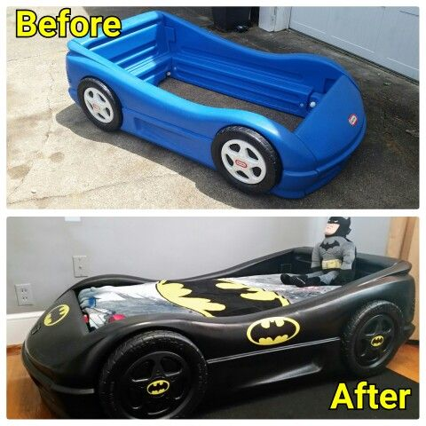 Batmobile Bed Batman Room Superhero Room Batman Bedroom