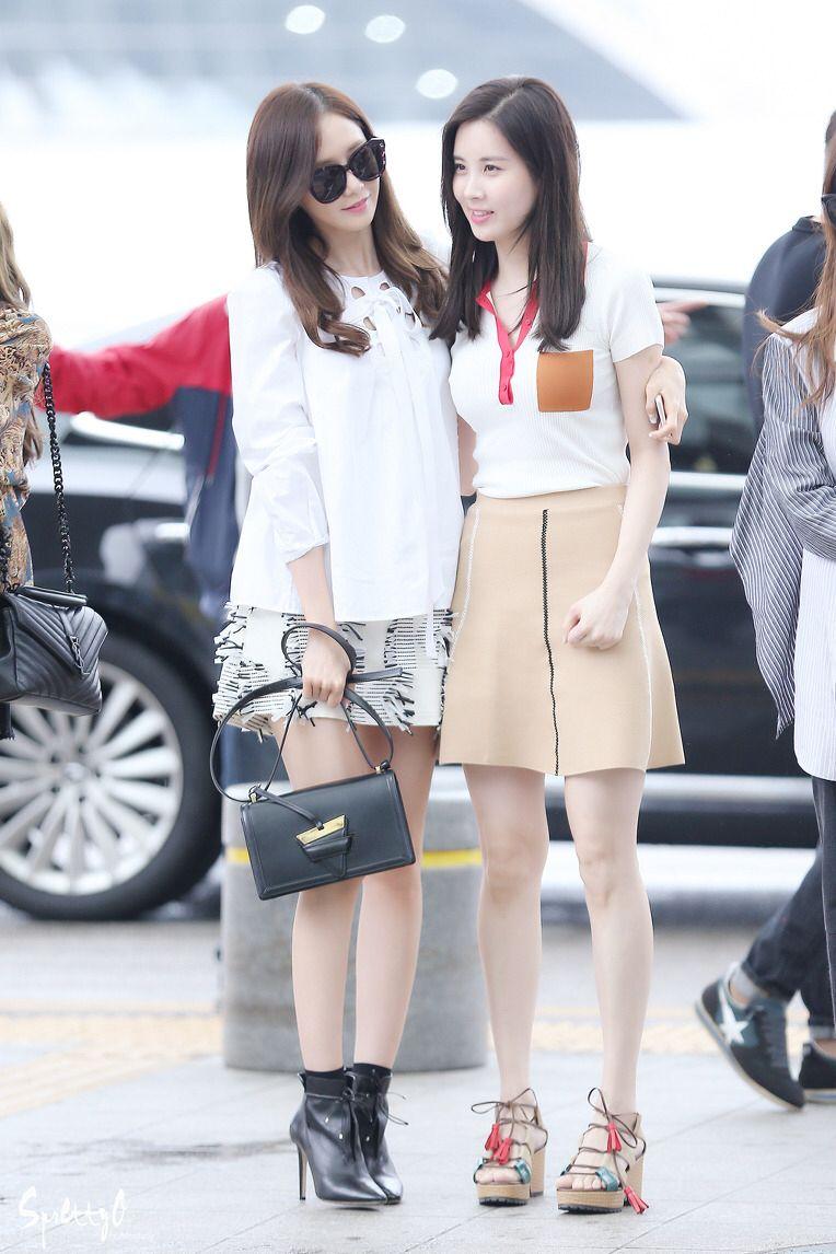 Snsd yoona seohyun airport fashion style | Snsd Airport ...