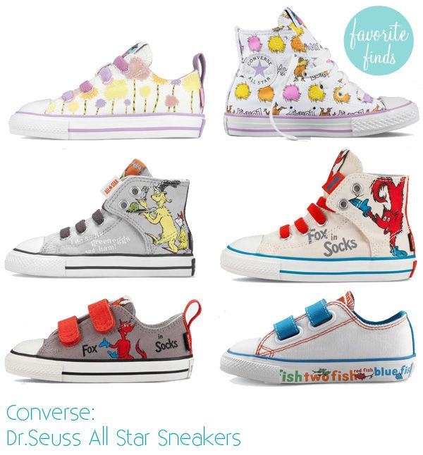 f1cb22dfbcad7e super cute!  Dr.Seuss Sneaker Shoes For Toddlers  by converse ...