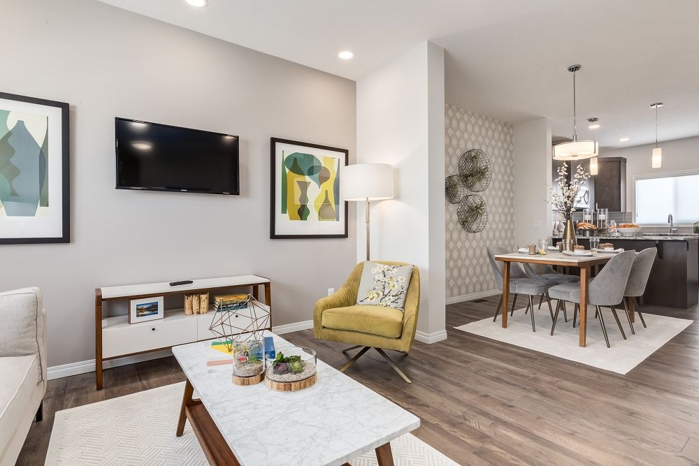 Modern Home Decor Ideas Wallpaper Accent Wall Contemporary Home
