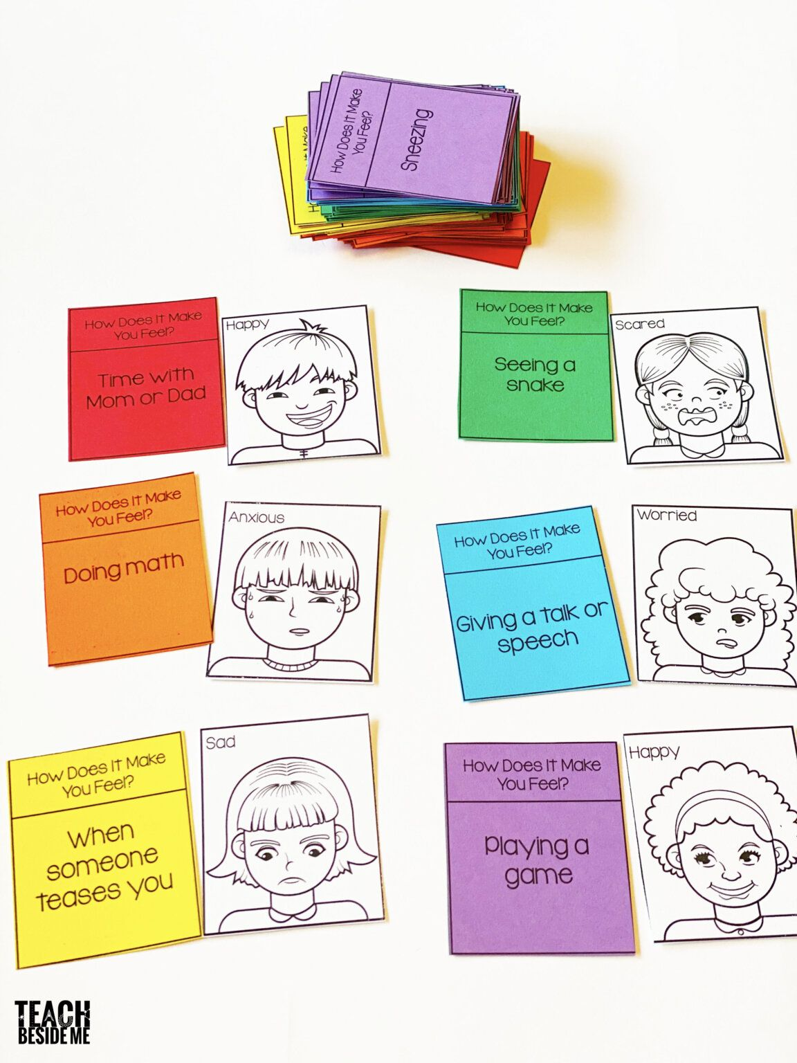 Emotional Learning Game For Kids In