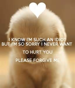 Please Forgive Me