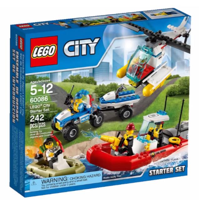 Lego City 2015 Lego City Starter Set Lego City Helicopter Lego City Sets Lego City