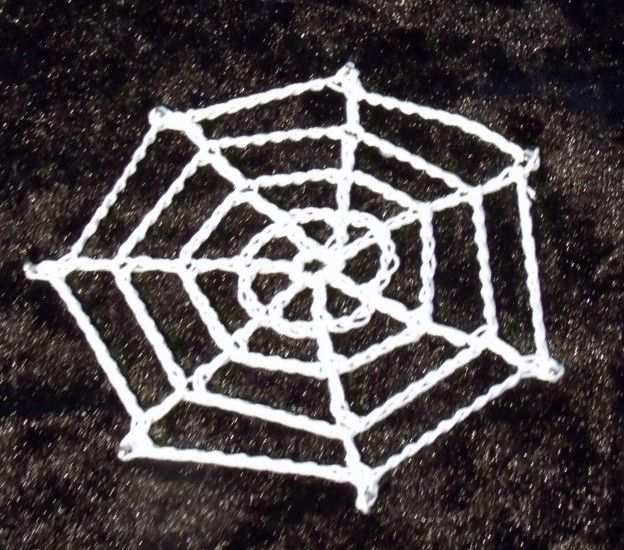 Crochet Spiders Web Yarn It Pinterest Spider Webs Spider And