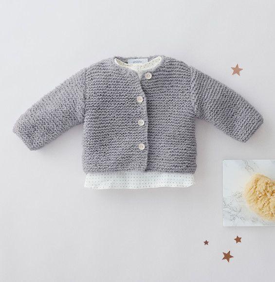 Gebreid babyvestje. | Breien | Pinterest
