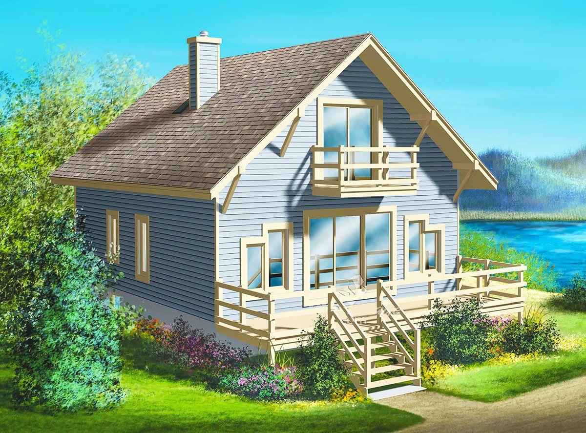 Plan 80168pm Simple Getaway Cottage Style House Plans Cottage Plan Cabin House Plans