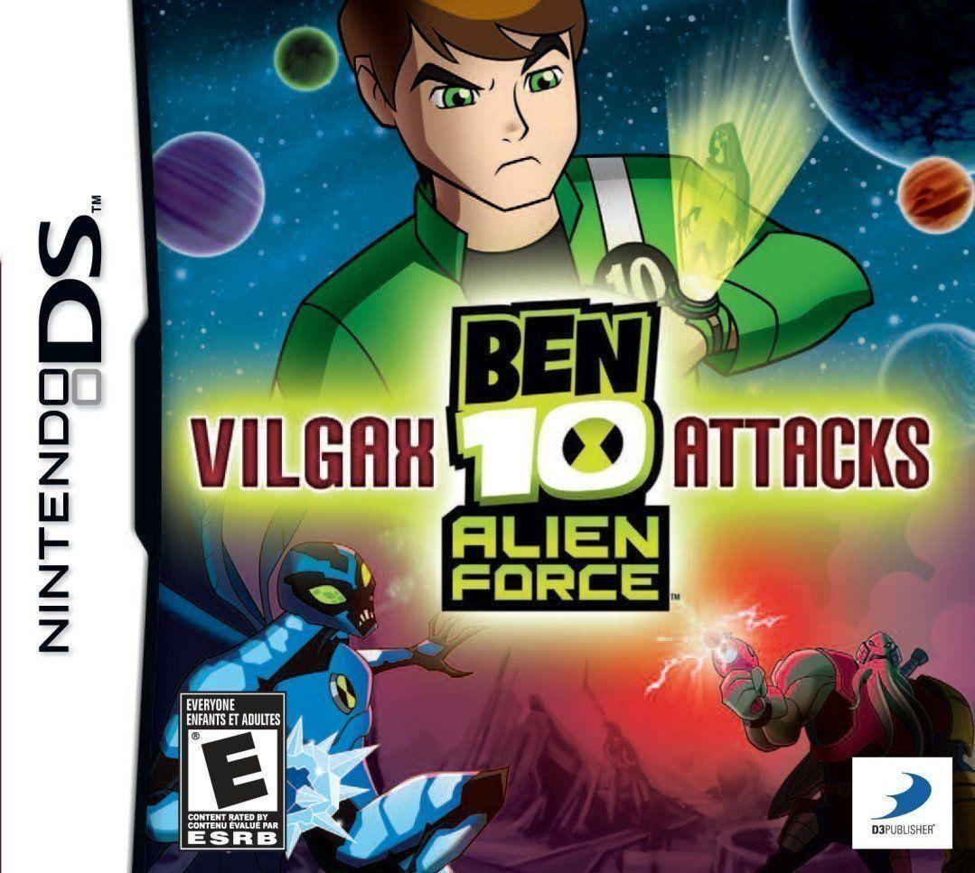 Ben 10 Alien Force Vilgax Attacks Nintendo Ds Ben 10 Alien Force Ben 10 Ben 10 Ultimate Alien