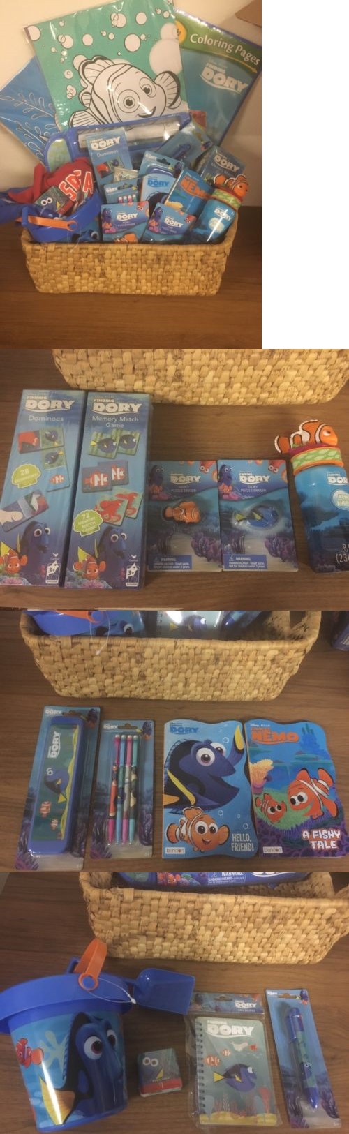 finding nemo 50310 finding dory nemo gift basket easter basket coloring pages domino match game
