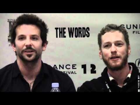 Bradley Cooper and Zoe Saldana in The Words
