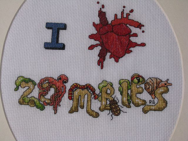 Zombie detail by Riann's Pictures, via Flickr