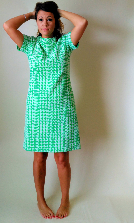 Green Mod Dress Large 60s 70s Shift Dress Fall Fashion Fashion Pencil Dress Mod Dress Shift Dress [ 3000 x 1799 Pixel ]
