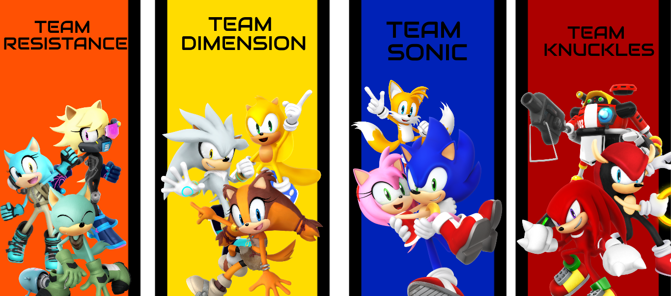 Ain T That Something To Bring Back Plus New Cast Members Sonic Heroes Sonic Sonic Boom