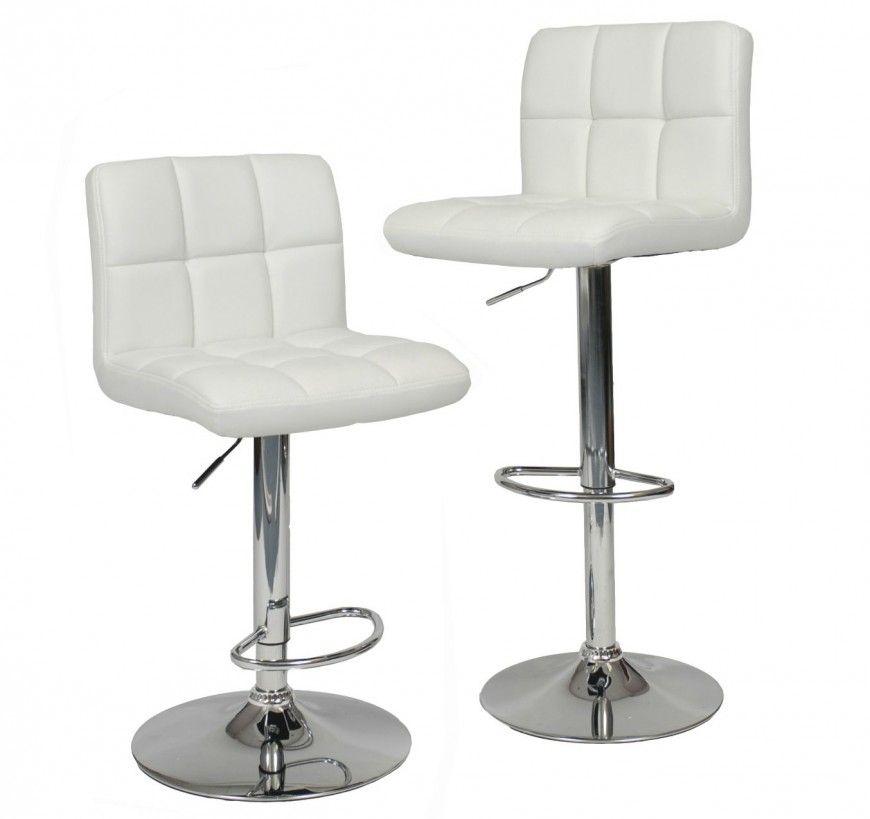 35 Stylish Modern Adjustable White Leather Bar Stools Adjustable