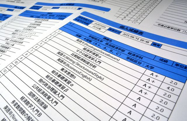 合否のカギを握るのは成績表――。大企業を中心に8月から解禁された採用面接で、大学 - Yahoo!ニュース(朝日新聞デジタル)