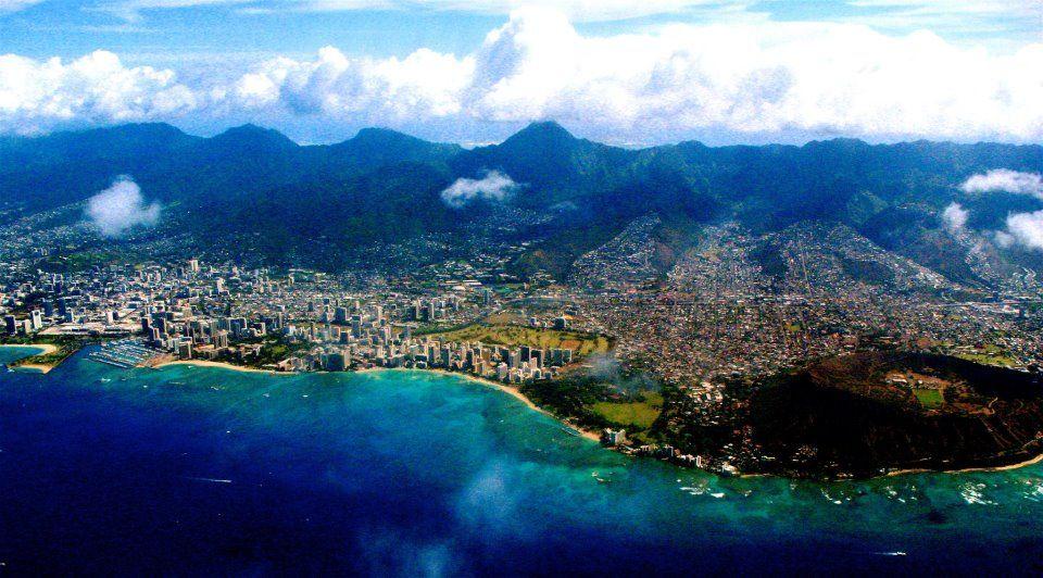 Beautiful Honolulu.