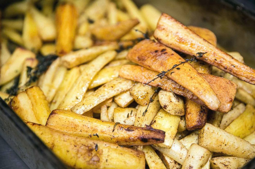 chef gordon ramsay shares his parsnip side dish for your thanksgiving feast thanksgiving food sides parsnip recipes roasted parsnips honey roasted parsnips chef gordon ramsay shares his parsnip