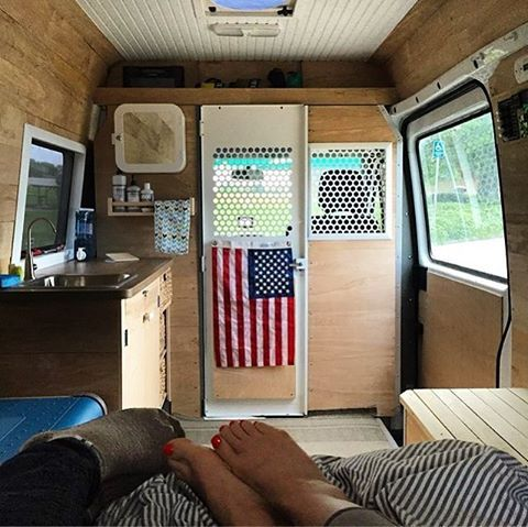 I Am So Into The Minimalist Design Of This Van VanCrush Vanlife Repost From Sprinterbeta For More Life Pics Check Out