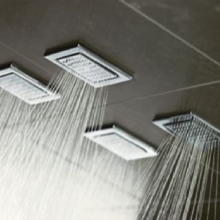 Kohler Watertile Showering Instead Of A Rain Can Out Of The