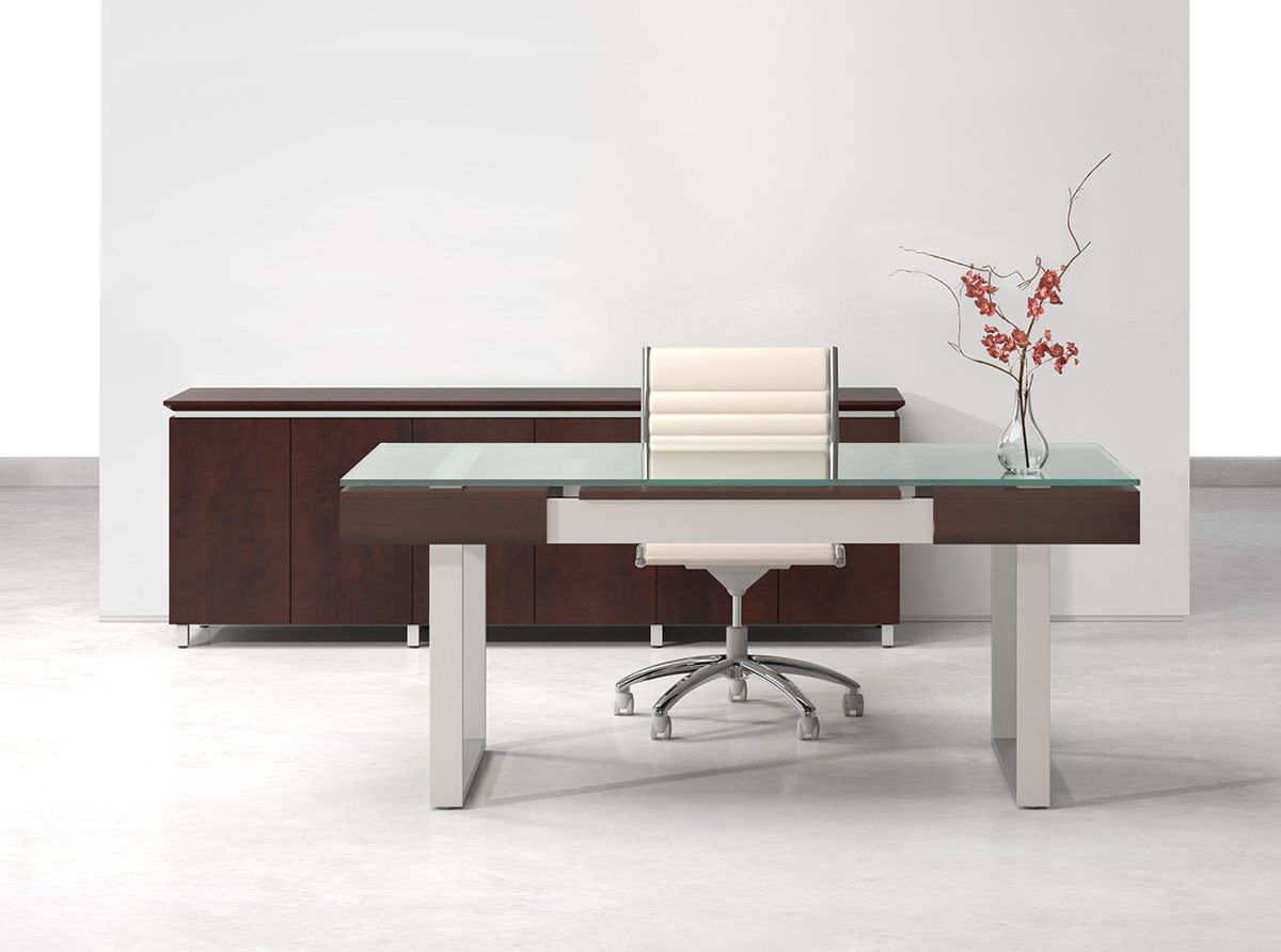 2019 Modern Glass Executive Desk - Country Home Office Furniture ...
