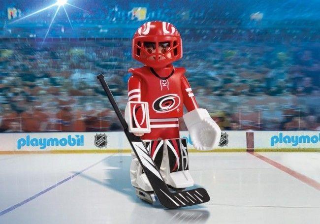 Playmobil Hockey LNH:Gardien de but des Hurricanes/Caroline - Castello   Jeux et Jouets