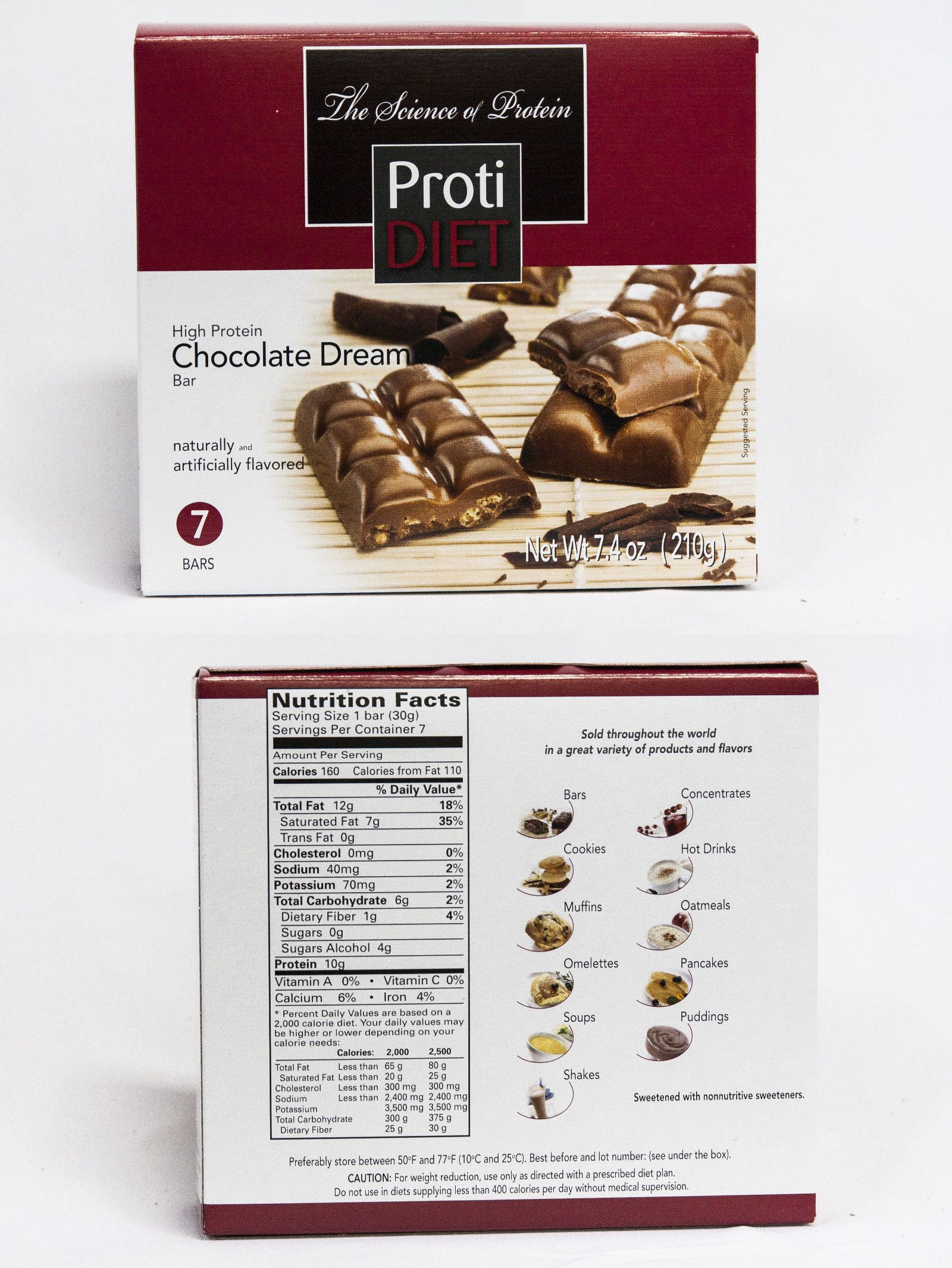 Ideal Protein Compatible Proti Diet Chocolate Dream Protein Bar