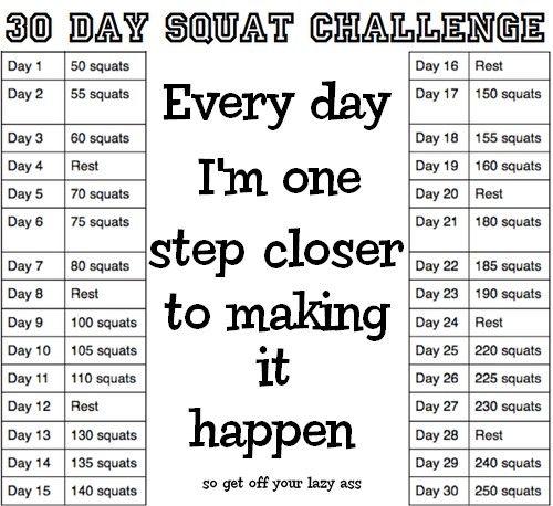 Tumblr Mkfnufwwhp1r4995ro1 500 Crunch Challenge 30 Day Squat