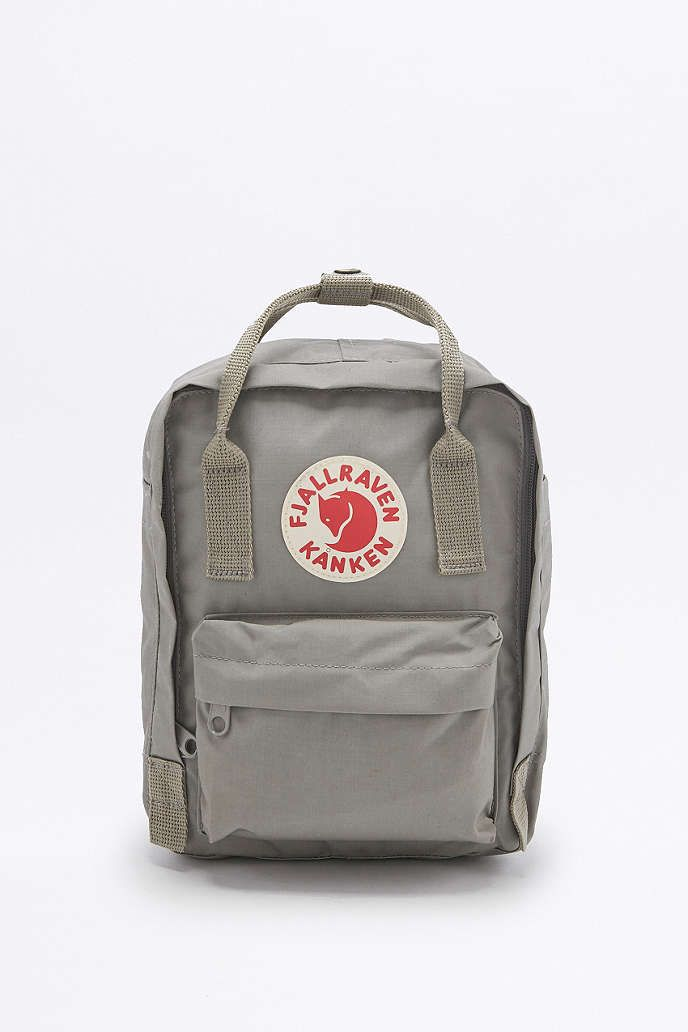 b05b1c9d91a2 Fjallraven Kanken Classic Mini Grey Backpack - Urban Outfitters ...