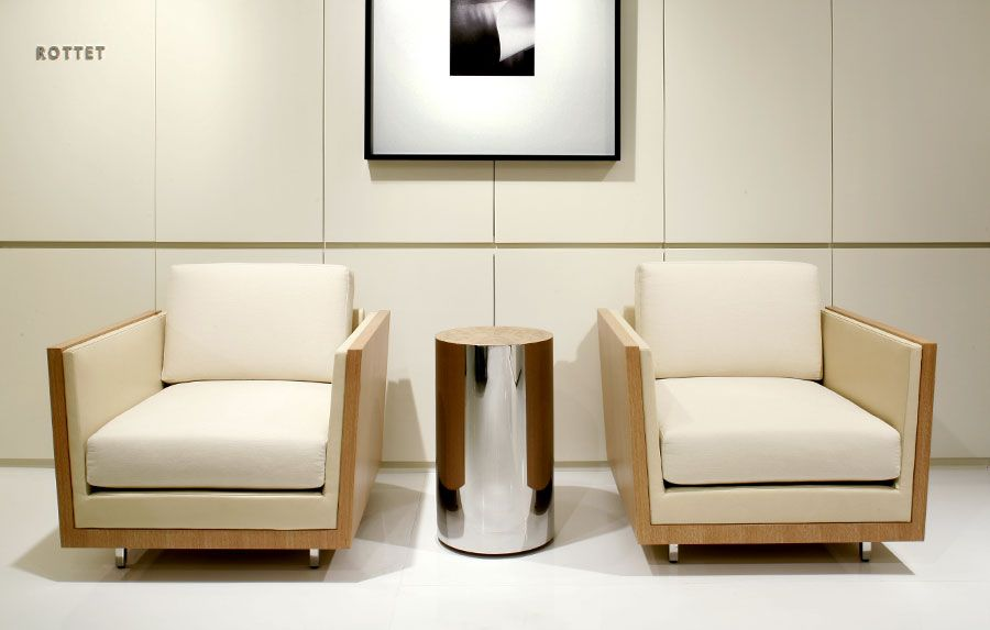 Rottet Lounge Chair Showroom - Decca Contract #sleek #modern #timeless #furniture Luxury Chairs C