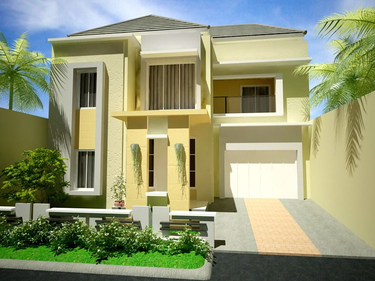 tips membuat denah rumah minimalis 2 lantai type 45