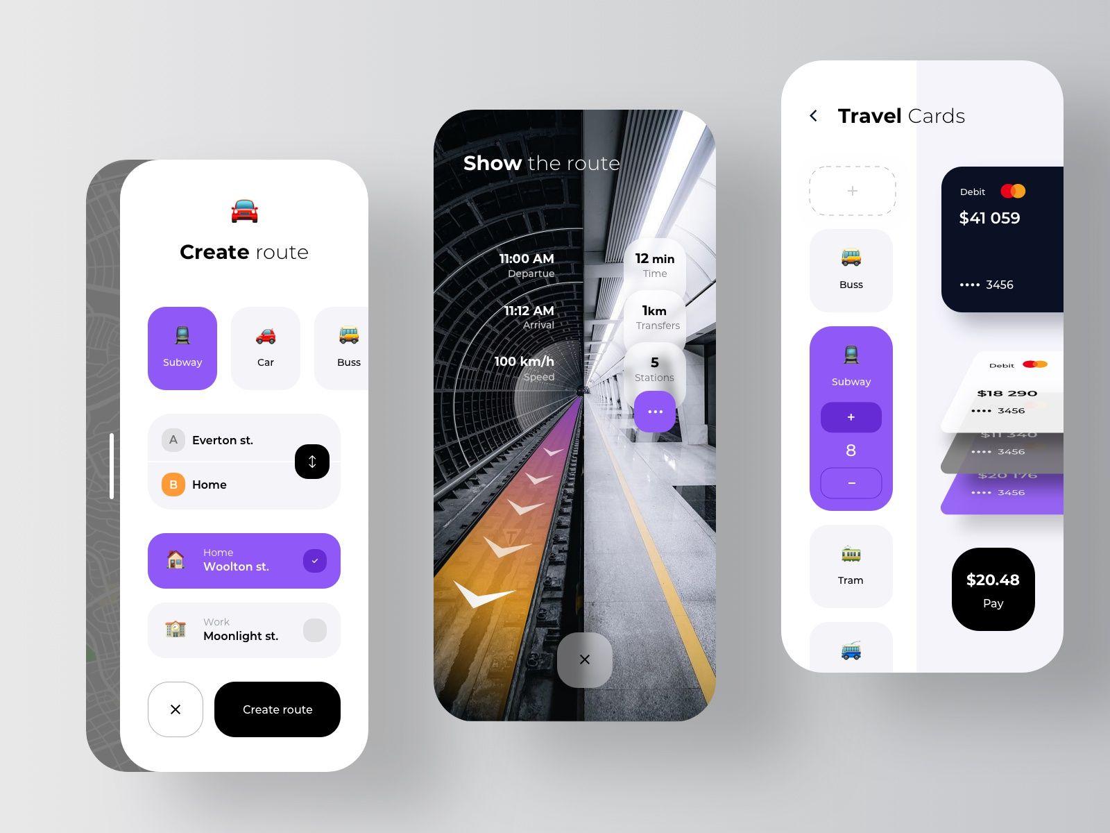 App Di Design route app