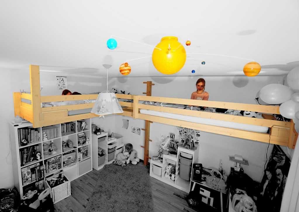 mezzanine adapt e votre espace pour agrandir votre surface de vie un lit mezzanine suspendu. Black Bedroom Furniture Sets. Home Design Ideas