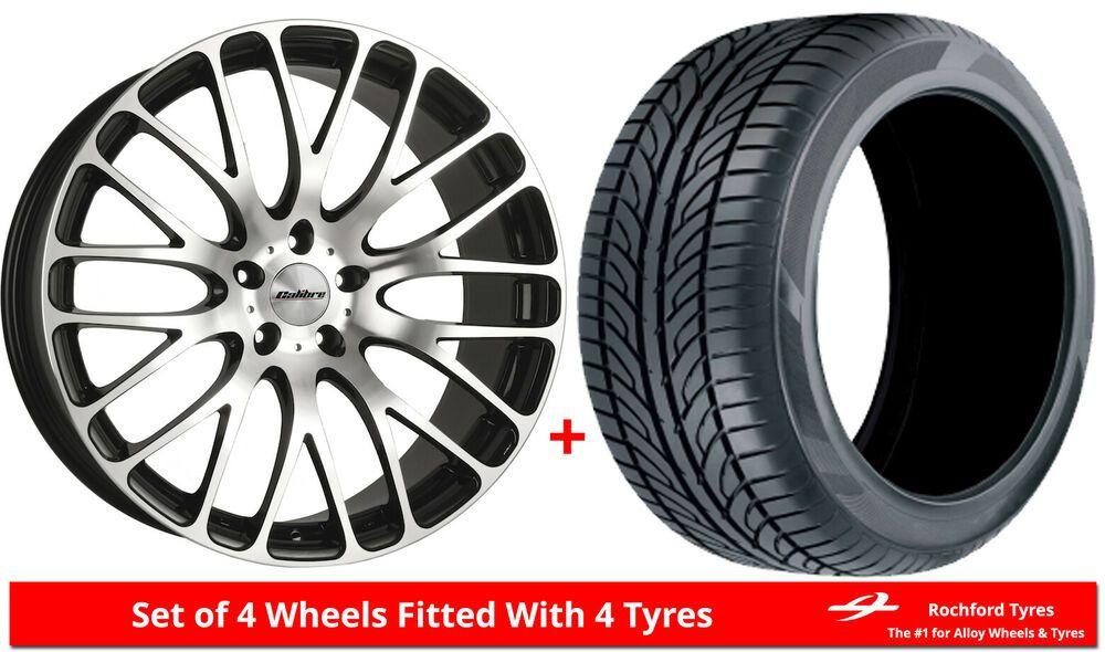Ebay Sponsored Alloy Wheels Tyres 9 0x20 Calibre Altus Black Polished 2555020 Economy Tyres Felgen Ebay Autoreifen