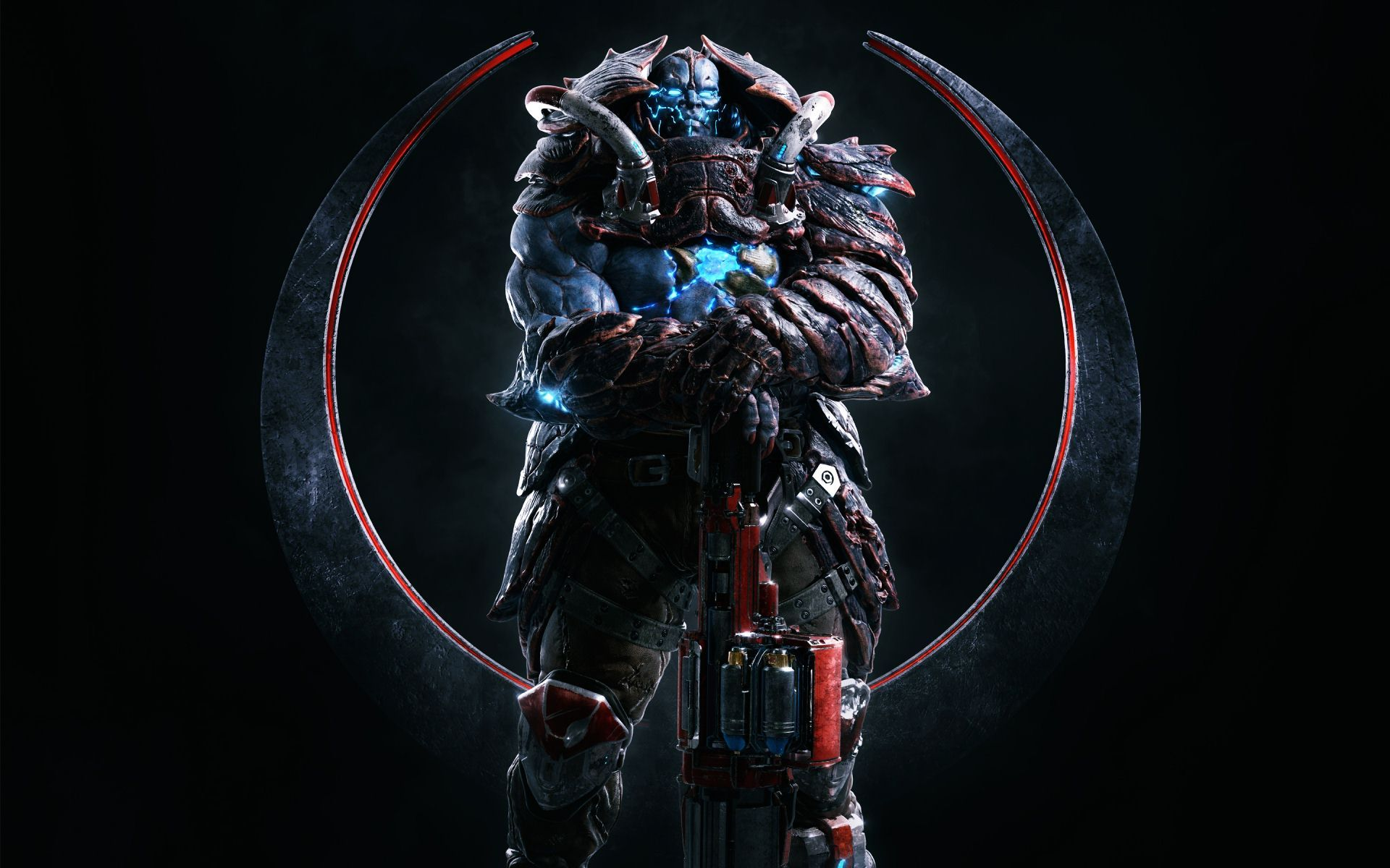 Quake Champions Hd Wallpapers Backgrounds Wallpaper Desktop Wallpaper Keys Art Iphone Wallpaper
