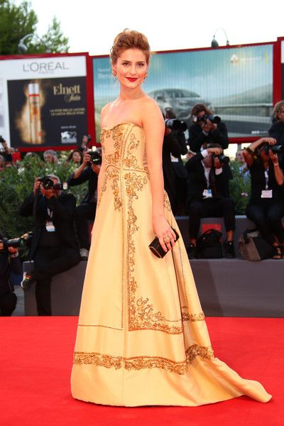 Lidiya Liberman in Alberta Ferretti Limited Edition #VeniceFilmFestival 2015