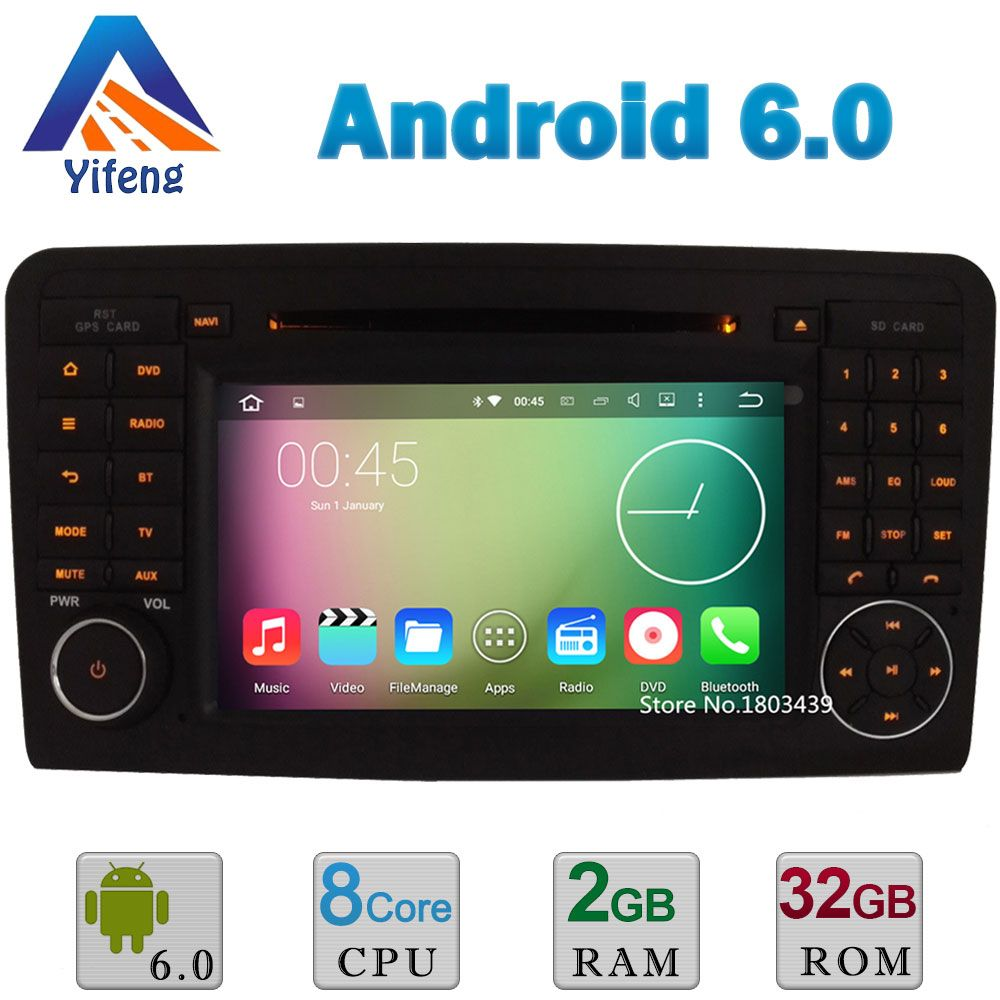 Android 6 Octa Core 2GB RAM 32GB ROM Car DVD Player Radio Stereo For