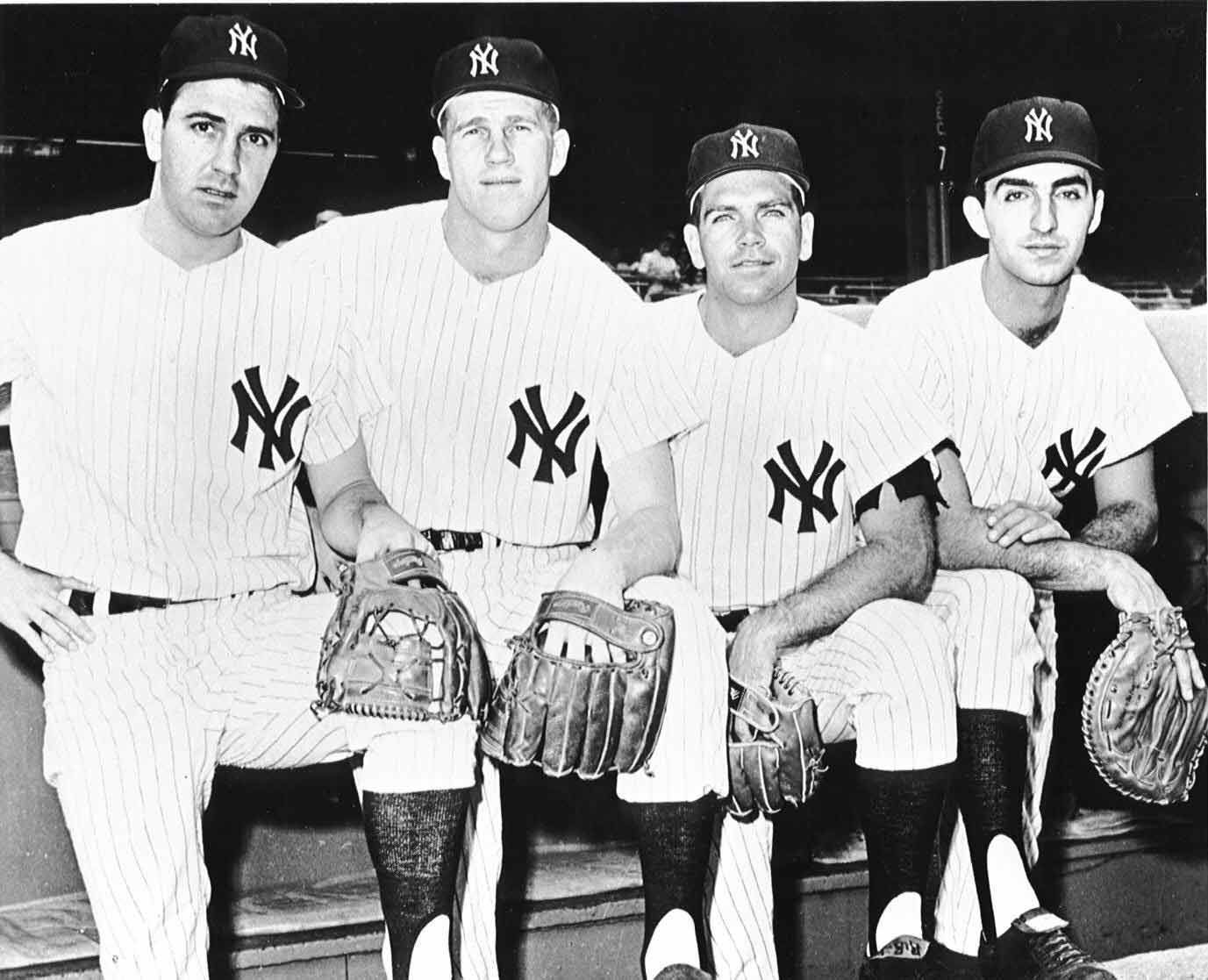 The Great Infield For The New York Yankees Of The Early 1960s Consisted Of From Left To Right Clete Boye With Images New York Yankees New York Yankees Stadium Ny Yankees