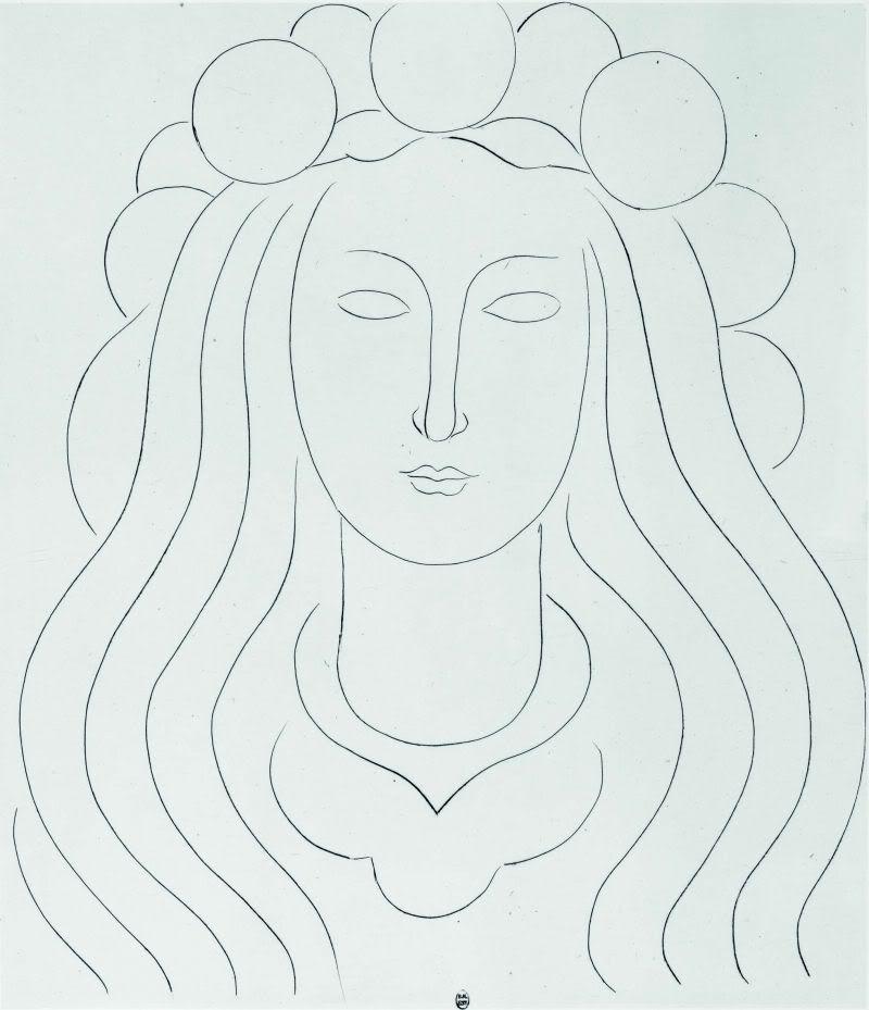 Matisse Drawing Life Fee Au Chapeau De Clarte Fairy