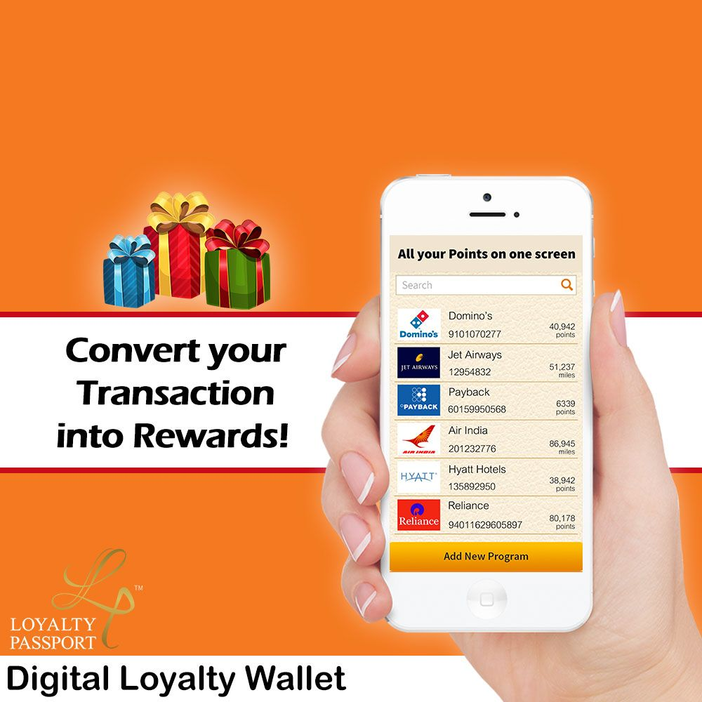 Check your loyalty rewards on your phone  Manage membership