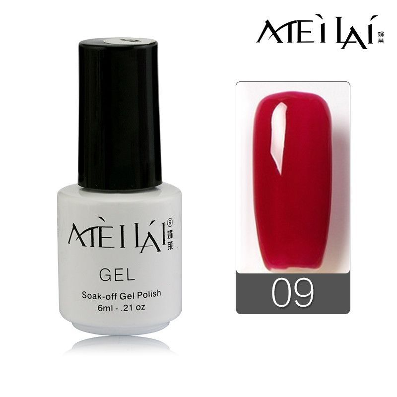 Meilai Vernis Semi Permanent Choose Any 1 From 30 Colors Gelpolish Soak Off Uv Lamp Nail Art Nail Gel Polish