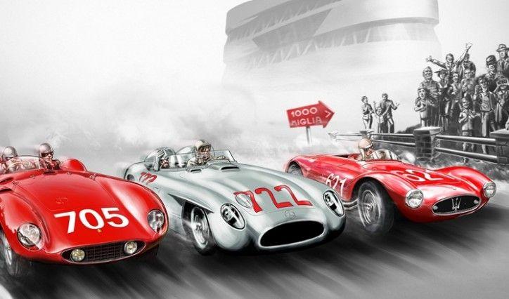 Mercedes-Benz Museum Holds Mille Miglia Exhibition