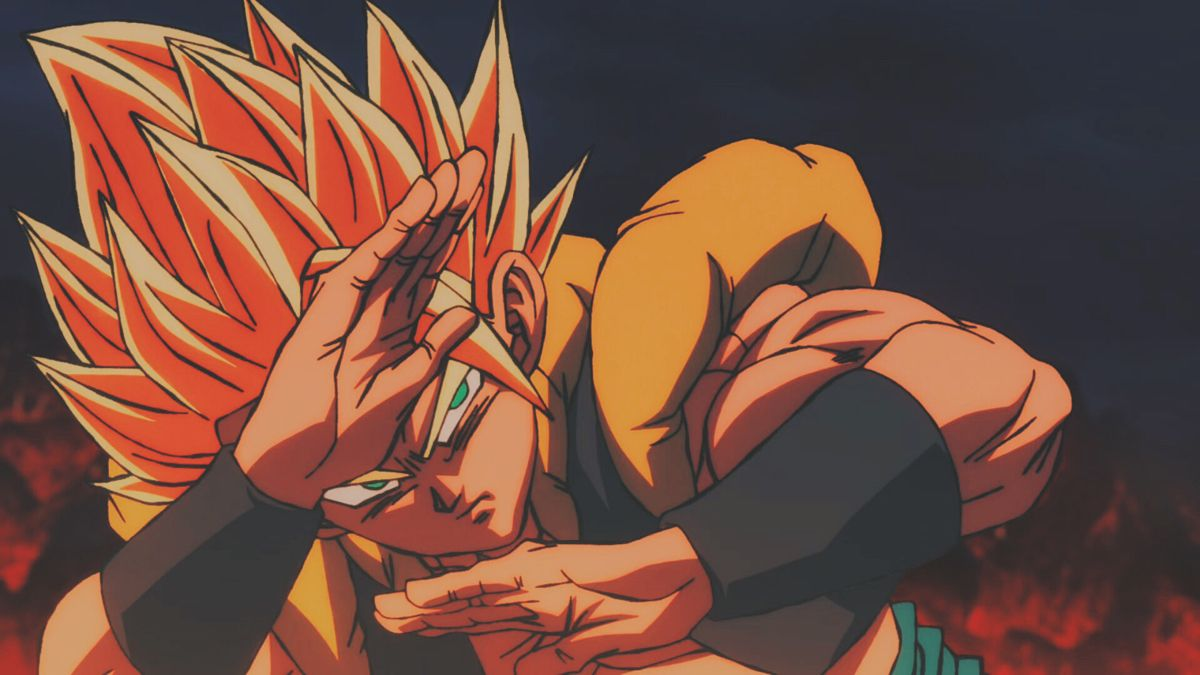 Gogeta Ssj Gogeta And Vegito Dragon Ball Dragon Ball Super Dragon ball gt final bout psx