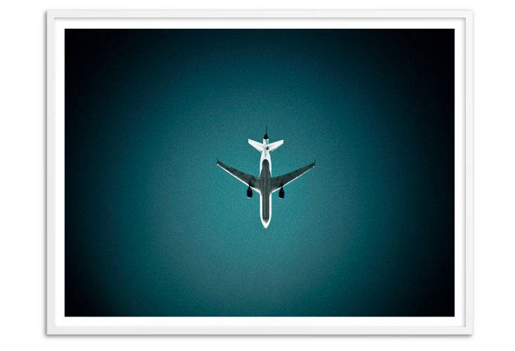 Airplane Silhouette, Oversize