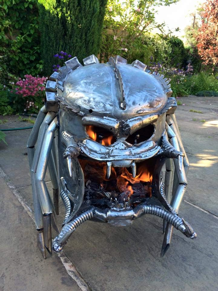 Geeky Wood Burners Amp Fire Pits By Burned By Design Wood