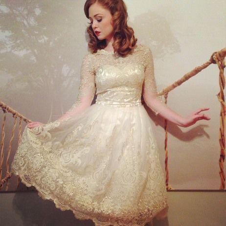Simply lovely}} | m o d a | Pinterest | Vintage inspired dresses ...